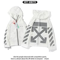 Wholesale thin women photos for sale - Group buy Trendy street photo casual and versatile ow reflective thin skin coat for boys and girls couple s coat hooded sunscreenMXFCRYFU