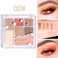 Wholesale contour palettes resale online - Cmaadu Colors Highlighter Makeup Maquillaje Contour Palette Brighten Shimmer Face Blush Powder Eyeshadow Palette Cosmetic Facial Profile