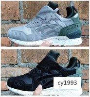 Wholesale desiger shoes resale online - MID Magnet Solid Grey GEL LYTE MT Desiger Shoes Hospital Blue Inertia Static Utility Black Men Women Running Sneak eur