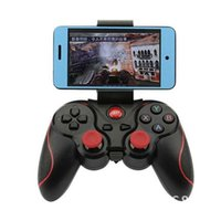 videospiel-konsole android groihandel-F300 Smartphone Game Controller Wireless Bluetooth Gamepad Joystick Console für Android Tablet PC TV-Box Videospiele Zubehör