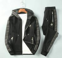 Wholesale 2020 new designers tracksuits mens coats pants suit men sweatsuits mens tracksuits hoodies sweat suit size M XL
