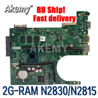 Wholesale Amazoon X200MA Laptop motherboard For Asus X200MA F200M F200MA Test original motherboard G RAM N2830 N2815