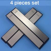 Professional Gold Kitchen Tool Whetstone Diamond Plate Knife sharpening stone 201026