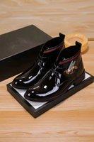 Wholesale wide dress shoes men resale online - 2019 Men Formal Business Shoes Dress Male Casual Wedding Party