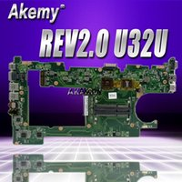 Wholesale U32U For Asus U32U U82U X32U laptop motherboard mainboard REV2 Integrated Test motherboard original work