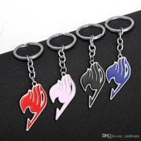 Wholesale fairy tail keys resale online - Anime Fairy Tail Keychain Enamel Guide Keychain Key Rings Fashion Jewelry Will And Sandy Drop Shipping
