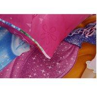 Wholesale girls princess bedding sets for sale - Group buy Cartoon Set Cinderella Size Drop Twin Pillow Bed Duvet Shipping Bedding Kids Princess Single Cover Girls Sheet Cases bbyPgP mj_bag