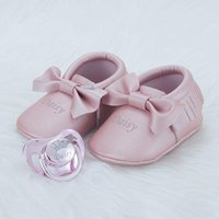 Wholesale baby pacifiers pink resale online - MIYOCAR personalized any name gold pink bling pacifier and baby shoes first walker luxurious style unique design PSH3