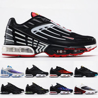 Wholesale kids trail running shoes resale online - Plus Tuned Trail Running Shoes Design Mens Sneakers Black Red Smoke Grey Lemon Venom Big Kids Sports Shoes Size
