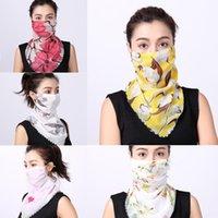 Wholesale designer infinity scarves resale online - Foulard Face Snood Loop Femme Scarf Scaves Cowl Winter Accessory MQDjP Warm Scarf Chunky Women S Infinity Ladies Bandana Mask Ritbu