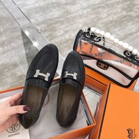 Wholesale dress peas resale online - Luxury Women Dress Shoes new superstar Peas shoes Womens casual Flats Loafers high quality Fashion driving shoes of size