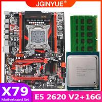 Wholesale JGINYUE X79 motherboard LGA set kit with Xeon E5 V2 processor and DDR3 GB GB REG ECC memory X79 GAMING8