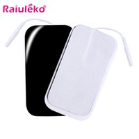Wholesale tens pad adhesive for sale - Group buy 20 P Tens Electrode Pads Self Adhesive Replacement Pads for EMS Muscle Stimulator Acupuncture Digital Therapy Machine mm Plug
