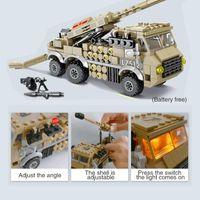 Wholesale kazi blocks for sale - Group buy Kazi Military Ww2 Vehicle Block Bricks Rescue Vehicle Aircraft Army Bomber Missile Car Model Brick Kids Educational Toys Gift jllKnr