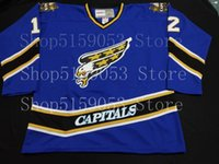 Wholesale hockey jerseys for sale resale online - Washington Capitals Hockey Jersey Fan Apparel Souvenirs for sale Embroidery Stitched Customize any number and name Jerseys