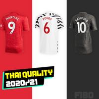 Wholesale martial soccer jersey resale online - RASHFORD MAN UTD POGBA MARTIAL soccer jersey home Away ALEXIS LINGARD jerseys camiseta de futbol