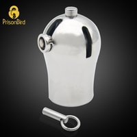Wholesale prison bird resale online - Prison Bird Male Luxury Chastity Device PA9000 with Titanium Plug and PA A295