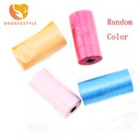 Wholesale dog poop bags roll resale online - 20 Pieces Roll Pet Dog Waste Poop Bag Garbage Waste Trash Bags Pet Garbage Bags For Dogs Cats Pets Supplies DOGGYZSTYLE
