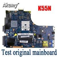 Wholesale Amazoon K55N Laptop motherboard For Asus K55N K55DE K55DR K55D K55 Test original mainboard