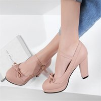 Wholesale 4.5 children sandals for sale - Group buy Children Shoes Sandals for Girls Bow Leather Shoes Girls ss High Heels Kids Party Wedding Shoes Female High Heels