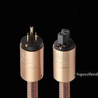 Wholesale tablet amplifier for sale - Group buy Hi End power cord AU power cable hifi American standard audio CD amplifier amp EU US plug Power line T200608