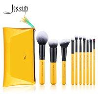 Wholesale makeup jessup brush set for sale - Group buy Jessup Brushes Citrus Color set Contour Makeup Brush Synthetic Hair Powder Foundation Blush Eyeshadow Blending