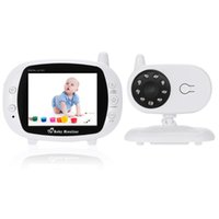 Wholesale Wireless Video Baby Monitor inch LCD Digital Baby Nursing Babysitter Lullaby Temperature Detection way Talk Camera
