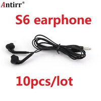 Wholesale s6 earpiece for sale – best Mp3 Mp4 In Ear S7 S8 With Microphone Samsung S6 Earphone Edge For Earpiece pieces Galaxy jllEmp car_2010
