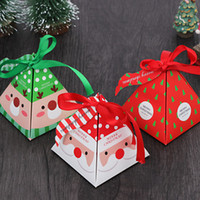 Wholesale christmas gift present boxes resale online - Christmas Gift Box DIY Paper Gift Boxes Xmas Presents Party Favors Decoration Packaging Chocolate Cookie Gift Wrap IIA795