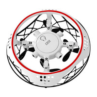 New Quadcopter Induction Indoor Outdoor Drone Induction Suspension With Light Fancy Flip Airplane Children's Toys For Gift