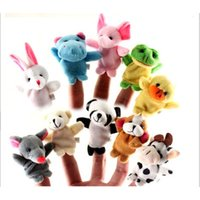 Wholesale prop hand puppet for sale - Group buy Baby Plush Toy Finger Puppets Talking Props Animal group Children s educational toys hands Puppet