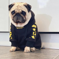 Wholesale pug gold for sale - Group buy Fashion Sport Hoodie For Dogs Pet Winter Coat Puppy Dogs Clothing Schnauzer Akita French Bulldog Clothes Pugs Fleece Y200922
