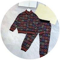 Wholesale Baby New autumn children suit sportswear boys suit simple casual hip hop color khaki comfortable children sweater suit shirt