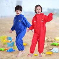 Wholesale rain pants for sale - Group buy Waterproof Raincoat For Children Pants Baby Rain Coat Pnocho Kids Rainsuit Outdoor Boys Girl Raincoats For Children