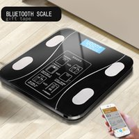 Discount mi body fat scale Hot Bathroom Body Fat bmi Scale Digital Human Weight Mi Scales Floor lcd display Body Index Electronic Smart Weighing Scales T200522