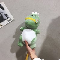 Wholesale lightweight cell phones online – Soft girl student Plush mobile Shoulder Phone bag phone bagautumn winter new cartoon cute dinosaur Lightweight Single Shoulder Messenge