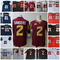 Wholesale deion sanders florida state jersey for sale - Group buy Mens NCAA College Deion Sanders Florida State Seminoles Football Jerseys Embroidery Stitched Deion Sanders Jersey S XL