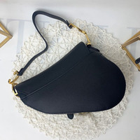 Handbag Women Luxurys Designers Bags Genuine leather handbags with letters shoulder bag lady real leathers saddle bagss