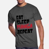 Wholesale Eat Sleep Manga Repeat Japanese Cosplay Event Gift T Shirt Cool Horror Sports Tracksuit Hoodie Sweatshirt
