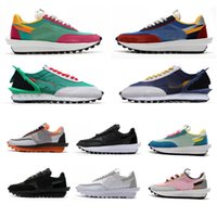 2021 UNDERCOVER x Waffle Racer Mens Womens Running Shoes LDV Waffle daybreak Sneakers Fragment Pine Green Gusto Sports Trainer