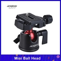 шаровые головки оптовых-Andoer Mini Ball Head Tabletop State Stand Panoramic Photography Head для Canon Nikon Sony DSLR беззеркальная камера видеокамеры