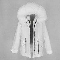 OFTBUY 2020 Removable Waterproof Parka Real Fur Coat Winter Jacket Women Natural Fox Fur Collar Hood Thick Warm Liner Outerwear