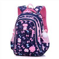 Wholesale orthopedic school bags resale online - Big Capacity Children School Bags Kids Cute Fashion Printing Backpack Girls Orthopedic Schoolbag Oxford Waterproof mochila escol