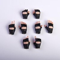 Wholesale hand gloves for ladies for sale - Group buy 1 Scale Gloves Hand Type Gun Hand Model Figure Fit For quot TBleague Woman Lady Body Action Figures Doll Accessories