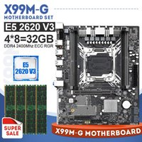 Wholesale LGA2011 X99 Motherboard With Xeon E5 V3 Processor and GB ECC REG MHZ Memory USB SATA M NVME