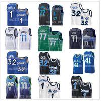 Wholesale Orlando Shaquille ONeal Magic Luka Dallas Mavericks Jerseys Doncic Tracy Penny Hardaway McGrady Dirk Nowitzki Basketball