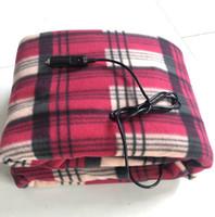 Wholesale heated fleece blanket resale online - Vehicle V Electric Heating Blanket Moisturizing Blanket Car Heating Blanket Car Bed Energy Saving Warm V Vehicle Electric Heating Cover