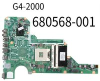 Wholesale mini itx laptop socket for sale - Group buy PN G4 Laptop Motherboard DA0R33MB6F1 Mainboard For HP Intel Board Without Graphics Chip Tested