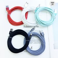 Wholesale 3ft ft ft Metal Housing Braided Micro USB Cable A Fast Charging USB Type C Cable for Android Smart Phone