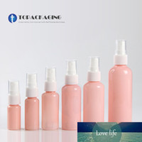 Wholesale pink plastic bottle spray for sale - Group buy 100PCS Empty Pink Plastic Spray Pump Bottle Sample Liquid Refillable Fine Mist Atomizer Cosmetic Container